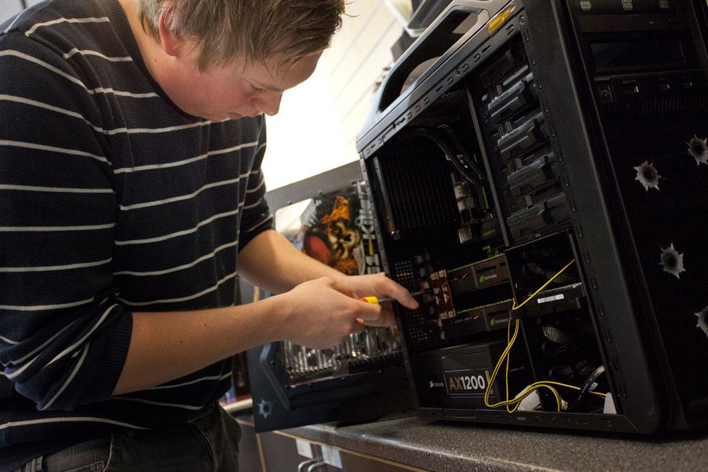 Lærling dataelektronikk